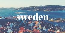 SWEDEN / Come see Sverige. Sweden is beautiful and open to all.