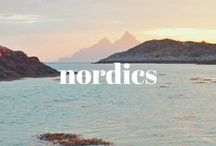 NORDICS / Scandinavia = Denmark, Sweden, Norway + Finland, Iceland and all their territories (Faroe Islands, Greenland, Åland Islands) and you get have the NORDIC countries. Let's go north people.