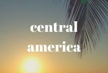 CENTRAL AMERICA / Explore the Central American countries of Belize, Nicaragua, Guatemala, El Salvador, Costa Rica, Honduras and Panama