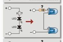 220 v led indikatör / led diyot driver devreleri