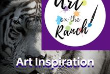 Art Inspiration - Nature - touches my art & soul / Animals -  Inspiration for my art and as teaching subjects