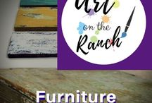 Art Craft Projects - Furniture Vintage & Salvage /  redo, make-it, change it's