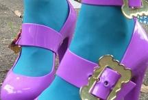 Aqua & Purple - Gorgeous together!!