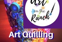 Art Projects - Art Quilling /  ideas - examples - tutorials for class