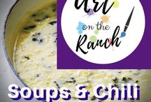 Luv 2 Cook - Soups & Chili / Here are my ideas for soups and chills gathered from everywhere!