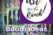 Art Show - Booth Ideas & Layouts