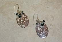 Sterling Silver/Semi-Precious Gemstone Earrings