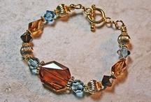 14K Gold Swarovski Bracelets