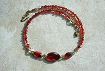 14K Gold Swarovski Necklaces