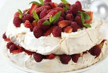 "Pavlova / There are many wonderful ways to make a ""PAV"" - here are some of our favourites"