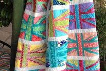 Quilty Lady - Bright/Modern
