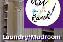 Prescott Ranch - Laundry/Pantry/Mud Room Ideas / Laundry & MudRoom are one room and Pantry another...ideas for both