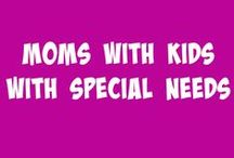 Moms with Kids with Special Needs / This board is for moms who have kiddos who are differently abled, ranging from speech and language impairments to spina bifida and everything in-between. We will encourage, uplift, and support!