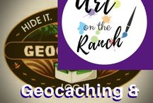 Geocaching and Letterboxing