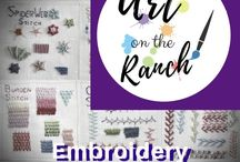 Art Craft Projects - Embroidery