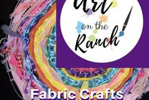 Art Craft Projects - Fabric Crafts / Inspiration, D.I.Y.