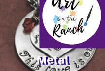 Art Craft Projects - Metal Stamping