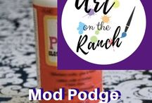 Art Craft Projects - Mod Podge / Projects using Mod Podge