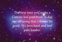 Gemini to the fullest ;) / by Lindsay Coker