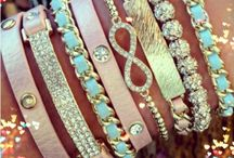 Jewelry, scarfs, bling...oh my!  / by Lindsay Coker