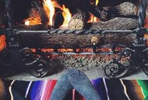 Fireplaces / by Barebambino