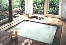 Hot tubs & Baths / by Barebambino