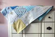 My Baby Clothes Memory Blankets / Preserving memories of your baby using his/her clothes in a practical blanket.