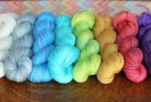 Lovely yarns / Glamour shots, sexy skeins, all the pretty, pretty yarn photo's you can handle! / by Tanis Fiber Arts