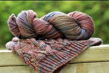 TFA Year in Colour Club / TFA's Year In Colour Club is the place to find inspiration with a fresh custom colourway and pattern arriving at your doorstep every other month. Details: http://www.tanisfiberarts.com/clubs/ / by Tanis Fiber Arts