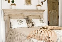 Headboard Ideas! / For more decorating ideas stop by: http://www.decorating-ideas-made-easy.com / by Jennifer Decorates