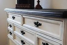 I love painted furniture
