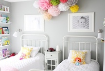 Girl's Bedrooms Ideas / For more decorating ideas stop by: http://www.decorating-ideas-made-easy.com / by Jennifer Decorates