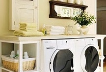 Laundry Room / For more decorating ideas stop by: http://www.decorating-ideas-made-easy.com / by Jennifer Decorates