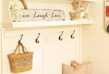 Mud Room / For more decorating ideas stop by: http://www.decorating-ideas-made-easy.com / by Jennifer Decorates