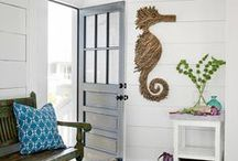 Beach House Style / For more decorating ideas stop by: http://www.decorating-ideas-made-easy.com / by Jennifer Decorates