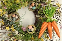 Easter Decorating Ideas / For more decorating ideas stop by: http://www.decorating-ideas-made-easy.com / by Jennifer Decorates