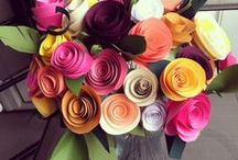 Paper FlowerTutorials / by Fly Me To The Moon Florists