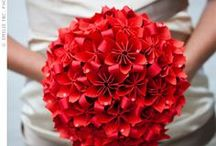 Alternative Bridal Bouquets / A collection of bouquets made from things other than fresh flowers or brooches.