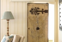 Old Doors, Shutters, and Windows / For more decorating ideas stop by: http://www.decorating-ideas-made-easy.com / by Jennifer Decorates