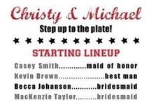 A Very Baseball Wedding / A board devoted entirely to baseball themed weddings! Would you use any of these ideas if you were to have your wedding at Alliance Bank Stadium?