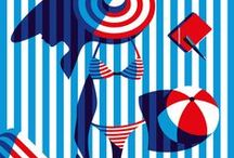 Vacanta de vara / Summer Holiday / Inspiratie pentru o vara minunata / Summer Holiday Inspiration / by Revista Atelierul