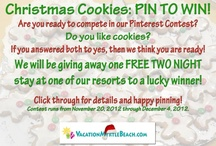 Christmas Cookies: Pin to Win! / This contest is now over! Thanks to all who participated! Our randomly chosen winner is Meghan Finley! She has won a two-night stay at one of our resorts. Contest ran from November 20, 2012 through December 4, 2012. 