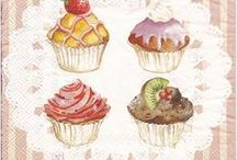 cupcakes/docinhos-moldes e idéias / by Soraya Rejane Correia