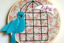 Passarinhos/birds-moldes e idéias / by Soraya Rejane Correia