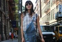 NYC Street Style / On hot summer days, New Yorkers are all about comfort. But that doesn't mean they're sacrificing style: This season, the fashion-forward are turning to effortless, versatile pieces that'll keep them looking haute and feeling cool as they navigate the sweltering streets. / by amNewYork
