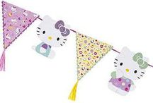 HELLO KITTY / Hello Kitty's adorable party range is pretty in pink with fashion-forward polka dots, bold colours and bright patterns. http://www.lakeland.co.uk/brands/hello-kitty?src=pinit