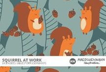 MW SQUIRREL AT WORK Patterndesign for Lillestoff / Feel free to enquire me about pattern licensing or wholesale conditions. Contact me for any questions!  KONTAKT@MAEDCHENWAHN.COM Maedchenwahn Surfacedesign for Lillestoff  Design: Squirrel At Work  Maedchenwahn Cooperation with Lillestoff GmbH Maedchenwahn fabric designs are produced in cooperation with the textile company lillestoff GmbH. For more informations and wholesale condotions please contact lillestoff GmbH. Please send inquiries to: info@lillestoff.com