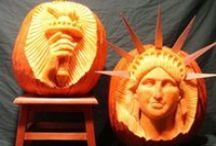 Impressive jack-o-lanterns / These carved #pumpkins are pieces of art! #jackolanterns #halloween #nyc / by amNewYork