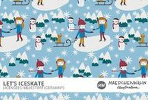 MW LET's ICESKATE Patterndesign for Lillestoff / Feel free to enquire me about pattern licensing or wholesale conditions. Contact me for any questions!  KONTAKT@MAEDCHENWAHN.COM Maedchenwahn Surfacedesign for Lillestoff  Design: Let's Iceskate  Maedchenwahn Cooperation with Lillestoff GmbH Maedchenwahn fabric designs are produced in cooperation with the textile company lillestoff GmbH. For more informations and wholesale condotions please contact lillestoff GmbH. Please send inquiries to: info@lillestoff.com