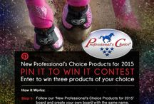 New 2015 Products / Check out Professional's Choice new line of 2015 products for both Western and English riders!